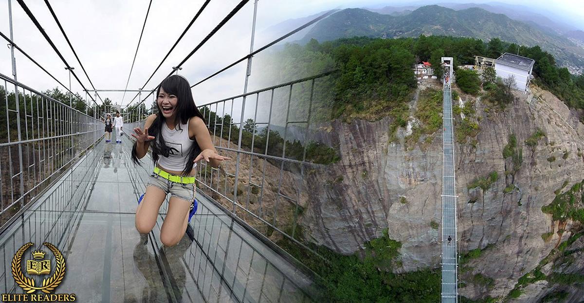 Chinese Glass Bridge Breaks